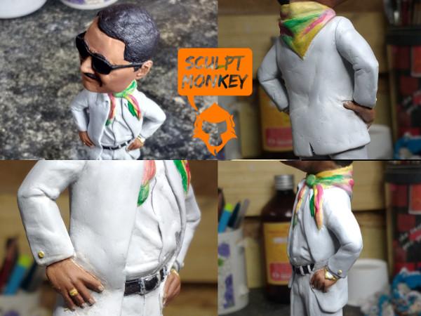 Custom 4 inch figurine - Paint Details