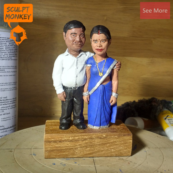 Parents Figurine 3 inch commission- Preview