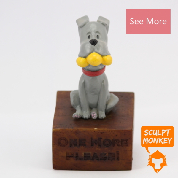 Playful Puppy Figurine - See More
