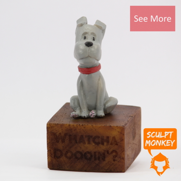 Curious Puppy Figurine - See More