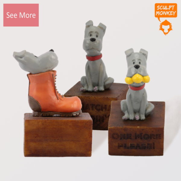 Puppy Figurines - Preview