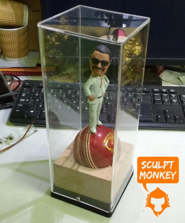 Custom 4 inch figurine - Acrylic Box