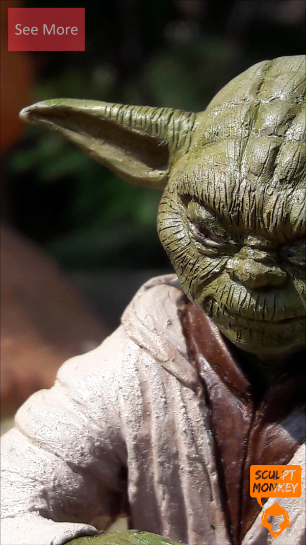 Custom Yoda Figurine - Preview