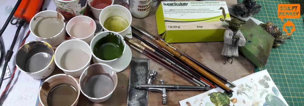 Custom Yoda Figurine - Paint colours