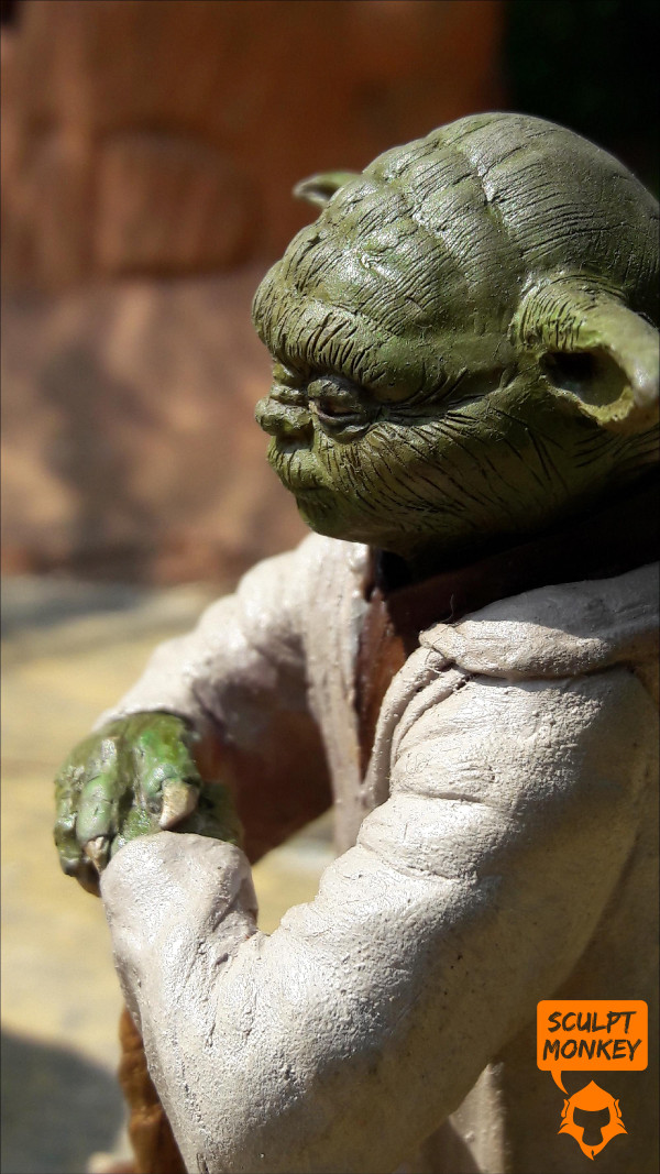 Custom Yoda Figurine - Side Profile