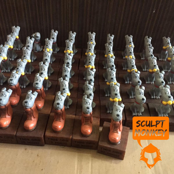 Puppy Figurines - Production